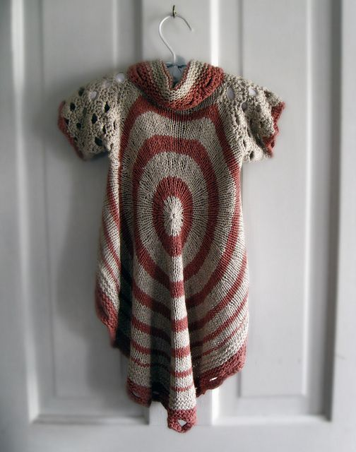 1c7d378a3815 Knitting That Inspires! I Love This Circle Sweater Made for a Baby ...