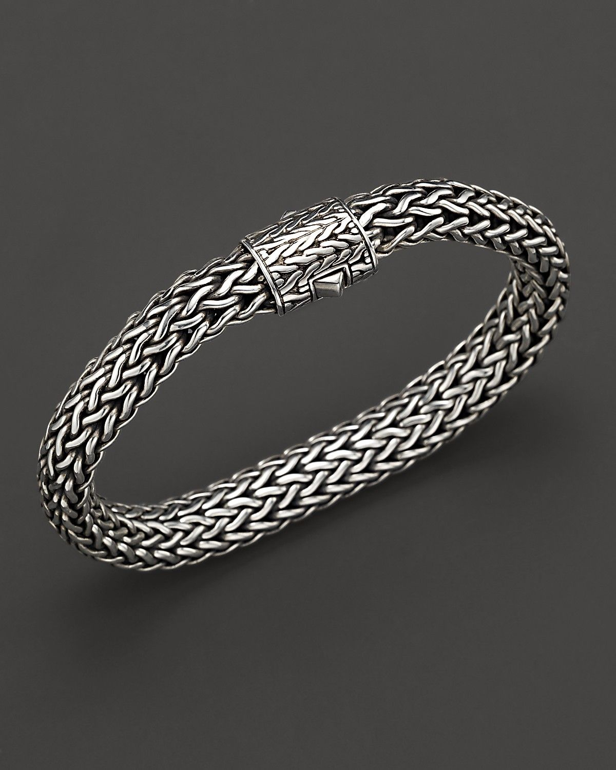 John Hardy Men S Sterling Silver Large Chain Bracelet Bloomingdale