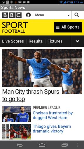 Sport news from BBC Sports, Bein sports, Fox sports, Goal