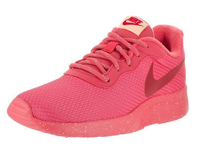 Nike Women's Tanjun Se Ember Glow/Gym Red Peach Cream Running Shoe 6.5 Women Us