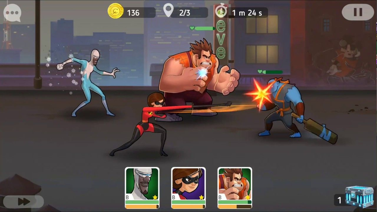 Disney Heroes Battle Mode Android Game First Look Gameplay Español Android Games Battle Disney