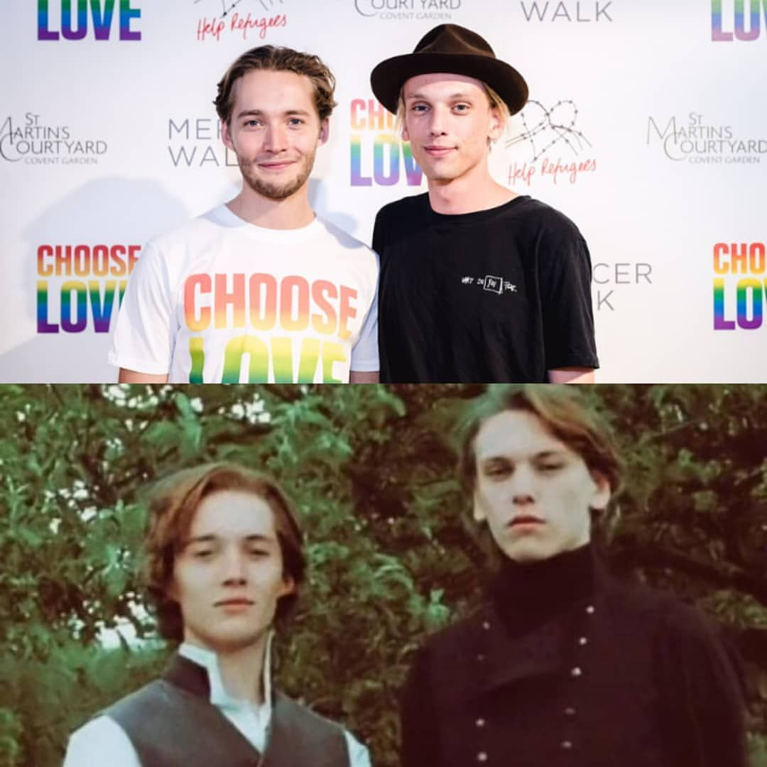 Toby Regbo Plays Young Albus Dumbledore In Harry Potter And Deathly Hallows Fantastic Beasts Harry Potter Dumbledore Jamie Campbell Bower Harry Potter Funny