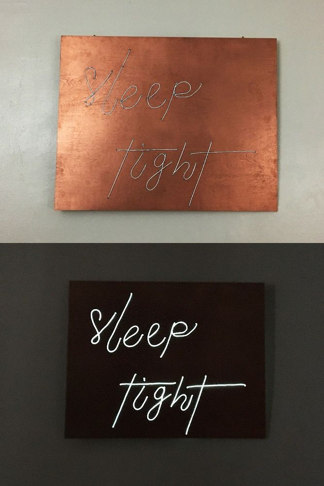 How To Make An Awesome Neon Sign For Your Bedroom Diy Neon Sign