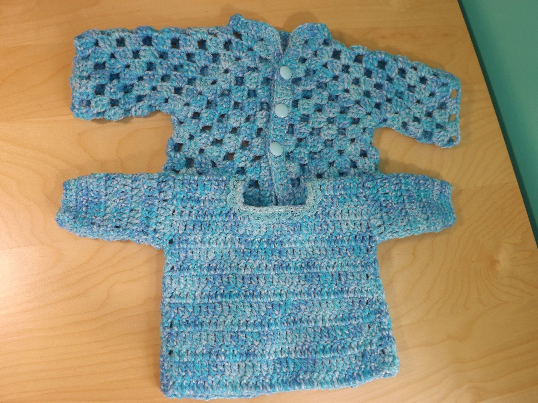 Crochet Abrigo o Suéter Para Bebe\' Parte 2 | BEBE&Kids crochet ...