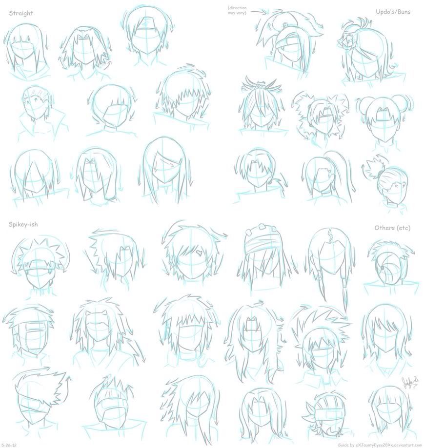 More Naruto Hairstyles Risovat Risunki Kak Risovat