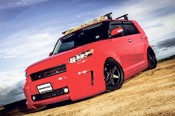 Sp Rides The Red Box Honolulu Street Pulse Roof Rack Scion Xb Scion