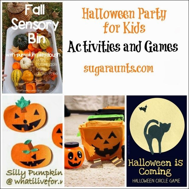 halloween Activities and Games for kids Halloween Pinterest - halloween party ideas games