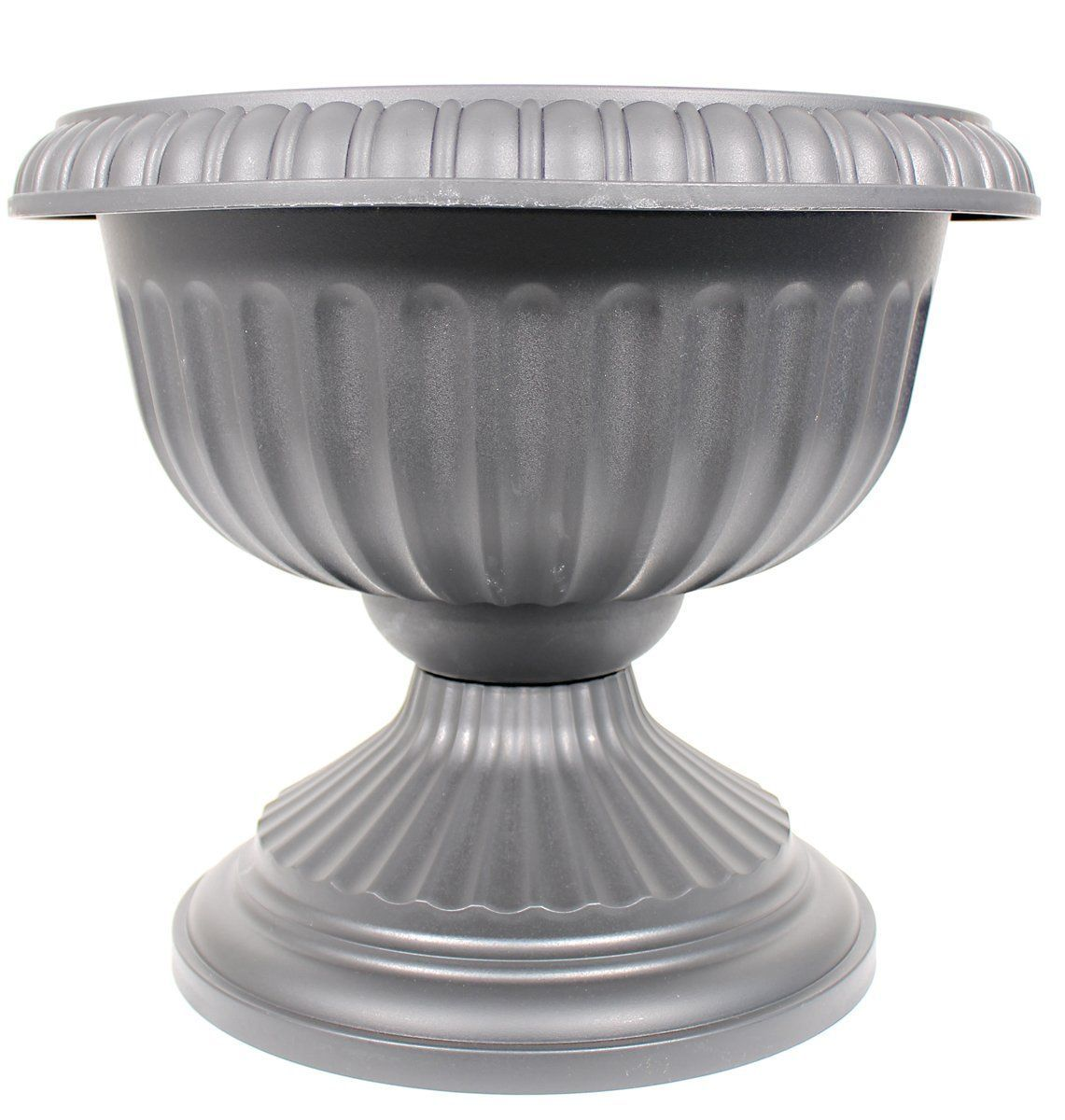 Novelty Mfg Co P Grecian Urn Planter Black 18 Inch Chậu Cay