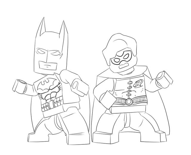 The Lego Batman Movie Coloring Pages   Pinterest