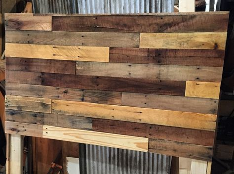Pallet Wood Headboard DIY U2014 Revival Woodworks