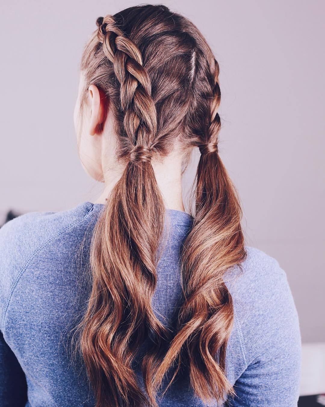 Pigtail Braids Instagram Dutch Pigtail Braids Pigtail Braids Hair Styles