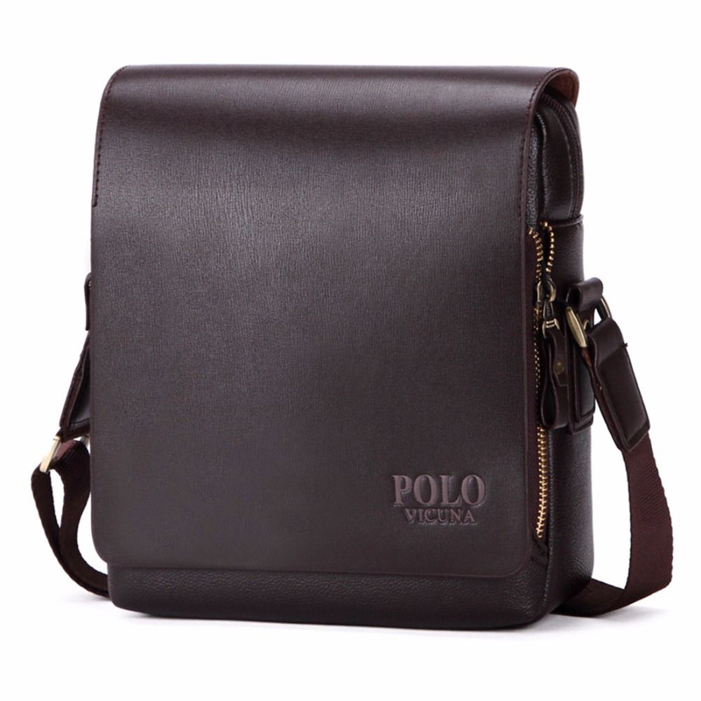 b58e4f2fac  9 - Polo Business Leather Men Messenger Bag Promotional Small Crossbody  Handbag  ebay  Fashion