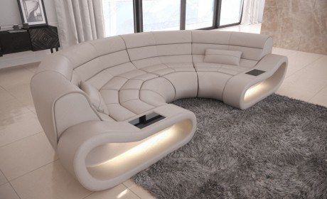 Sofa Couch Concept Leather In 2020 Grosse Sofas Rundes Sofa Sofa Set Designs