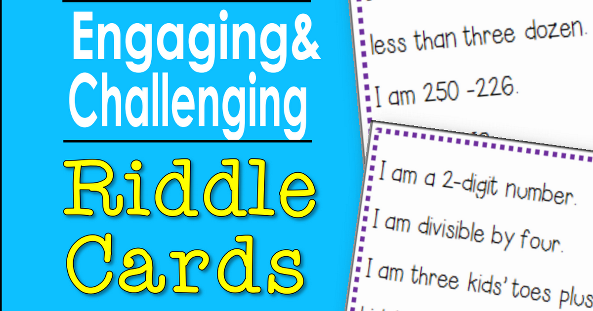 100 Riddles for Third Grade Sample (1).pdf 4th grade