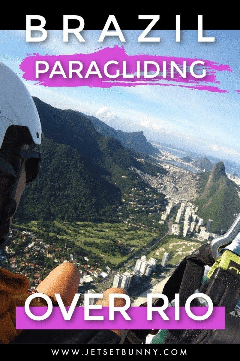 Flying High In Brazil Paragliding In Rio De Janeiro In 2020 Paragliding Rio Rio De Janeiro