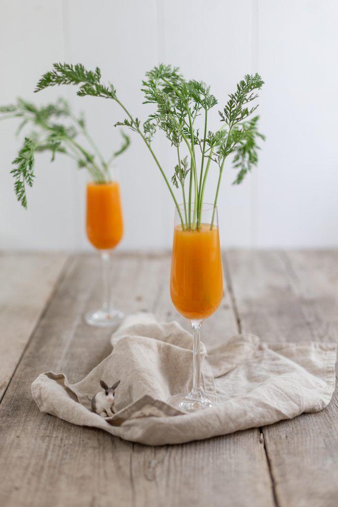 Oster - Rezept: Karotten-Gin-Tonic im Möhrchen-Look - Frisch Verliebt #cocktaildrinks