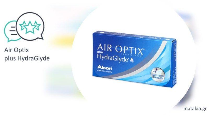 8c2c7fb709 Φακοί επαφής Air Optix plus HydraGlyde