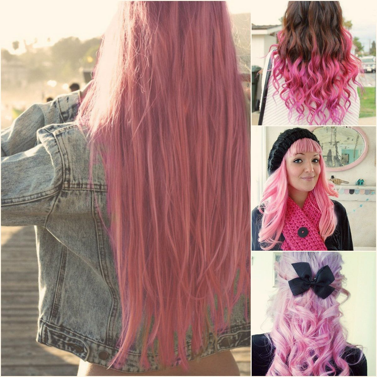 How to dye pink ombre hair extensions pink ombre hair ombre