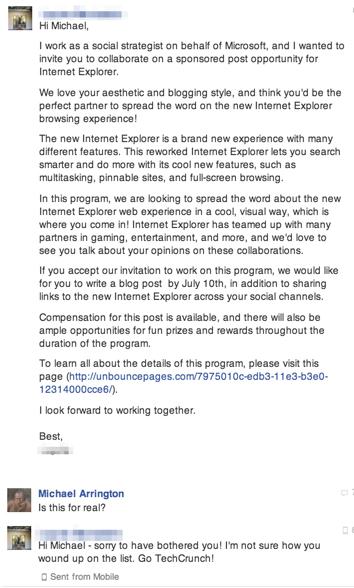 E-mail marketing: zo moet het in ieder geval niet.