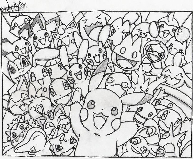 Pokemon By Xnyanya On Deviantart Pokemon Coloring Sheets Pokemon Coloring Pages Pokemon Coloring
