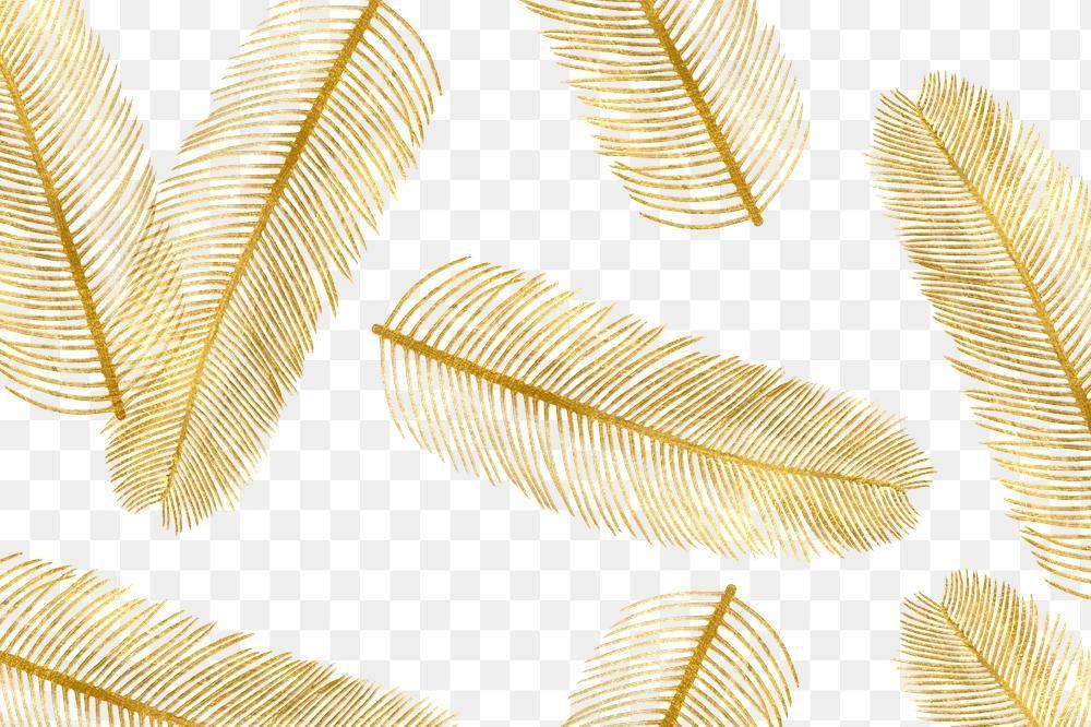 Palm Leaf Png Gold Shiny Metallic Pattern Free Image By Rawpixel Com Katie Metallic Pattern Gold Palm Leaves
