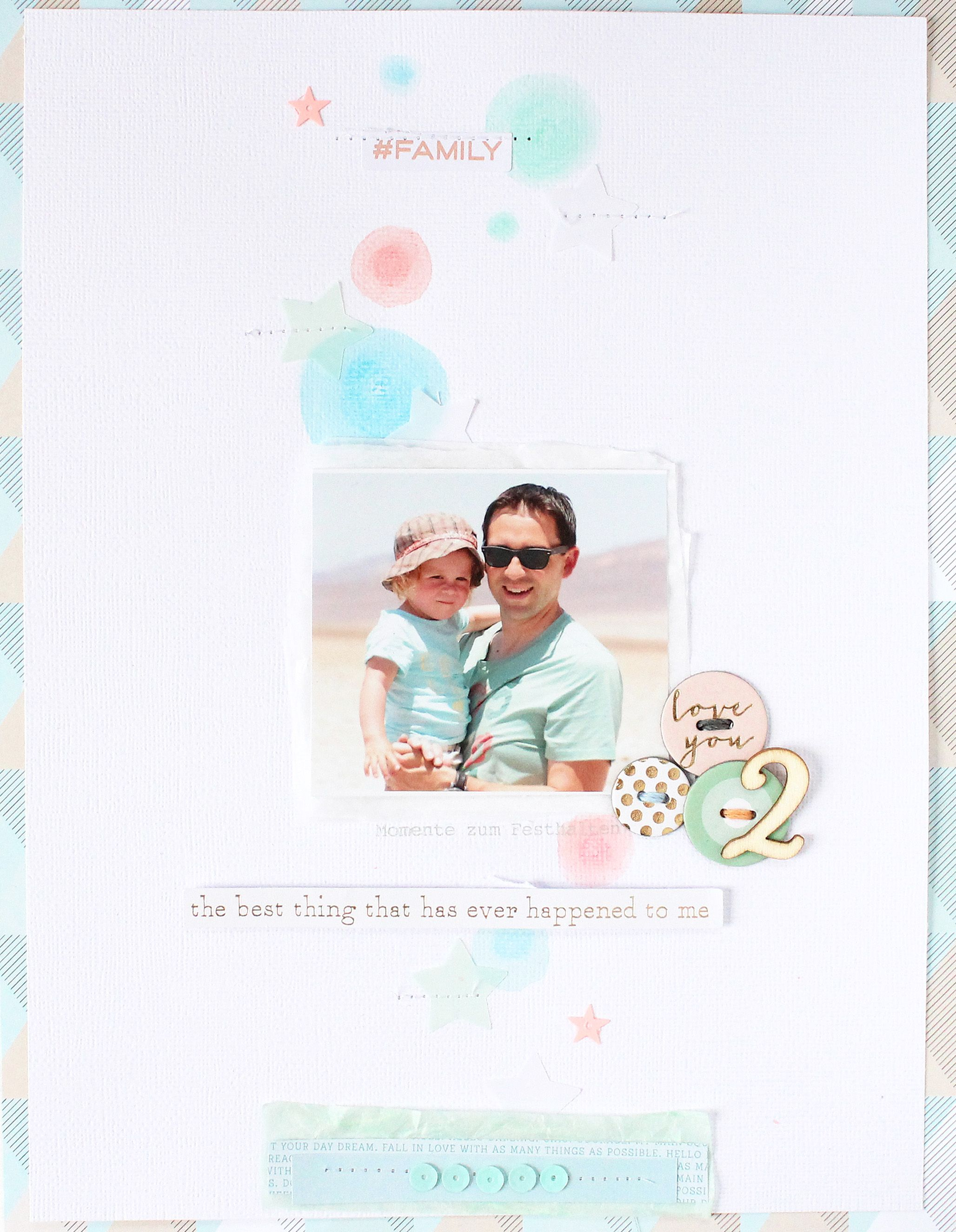 Love You 2 Layout Steffi Ried