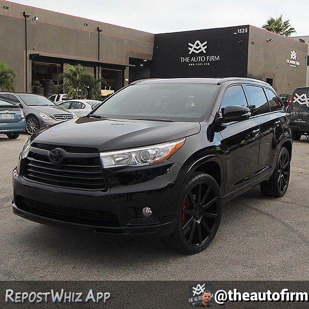 Black Black Toyota Highlander Toyota Toyota Highlander Hybrid