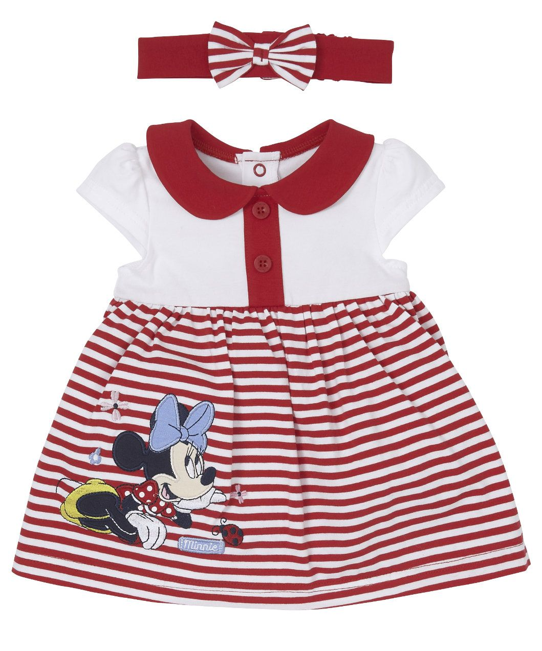 239bdfe7a Disney Minnie Mouse Romper Dress and Headband - dresses - Mothercare ...