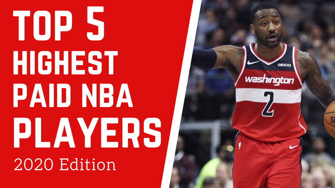 Top 5 Highest Paid NBA Players In 2020 in 2020