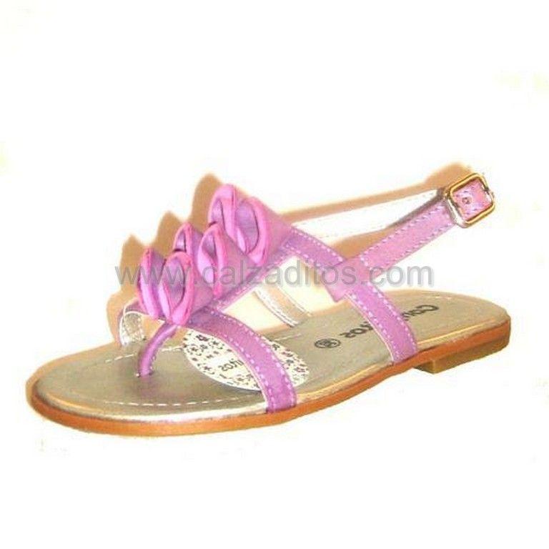 Zapatos con hebilla Conguitos para niña am4Nl