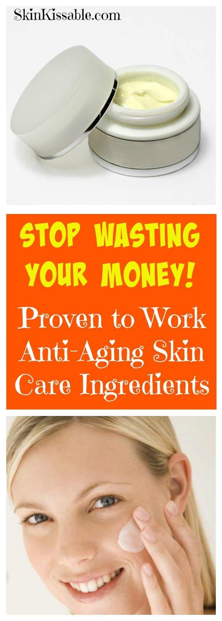 Best AntiAging Skin Care Ingredients. What ingredients