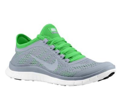 b76353c4c5ae 2018 的 Nike Free 3.0 V5 Womens New Wolf Grey White Poison Green ...