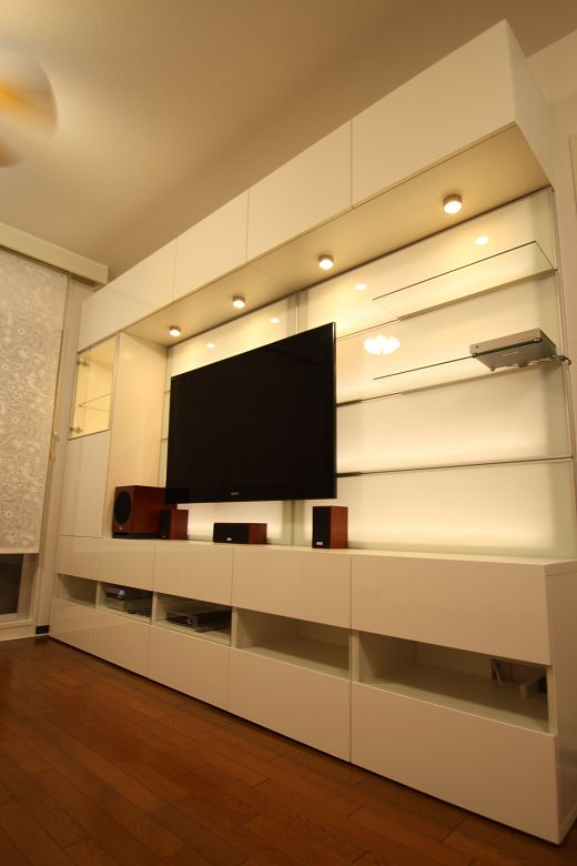 album 6 banc tv besta ikea panneau framsta r alisations clients salle tv pinterest. Black Bedroom Furniture Sets. Home Design Ideas