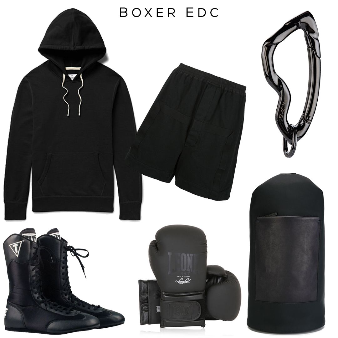 1a27e14eb79 Boxer EDC    Clockwise  Hoodie by Reigning Champ