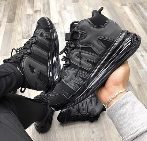 best website 6dc00 e1ceb NIKE AIR MAX UPTEMPO 720 BLACK