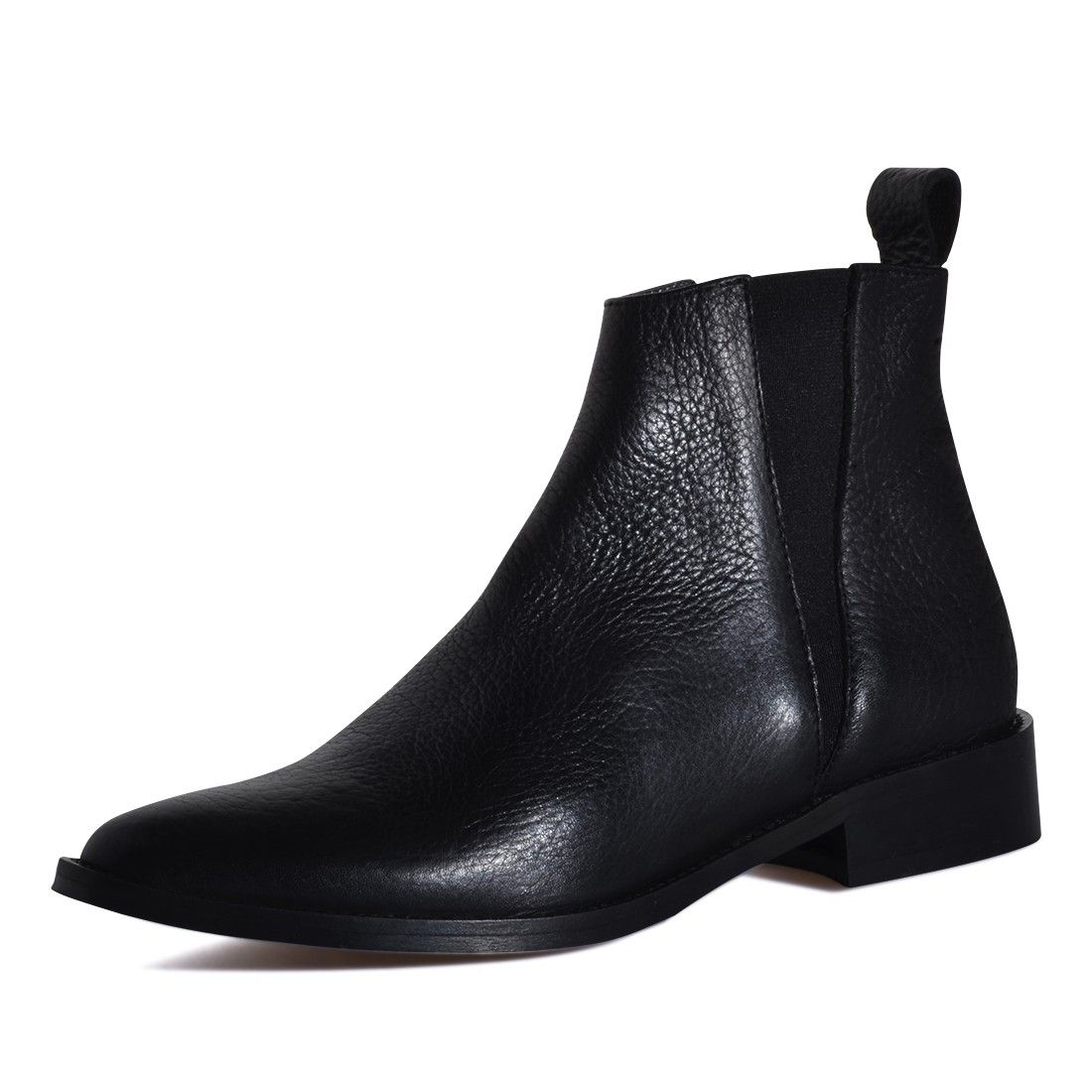 1269 ZIP BOOT BLACK ARAGON | gardenia