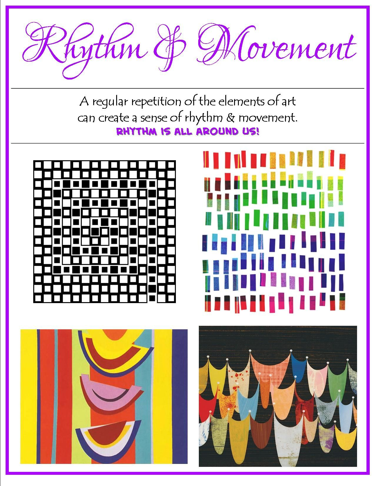 Patterns Movement Worksheet
