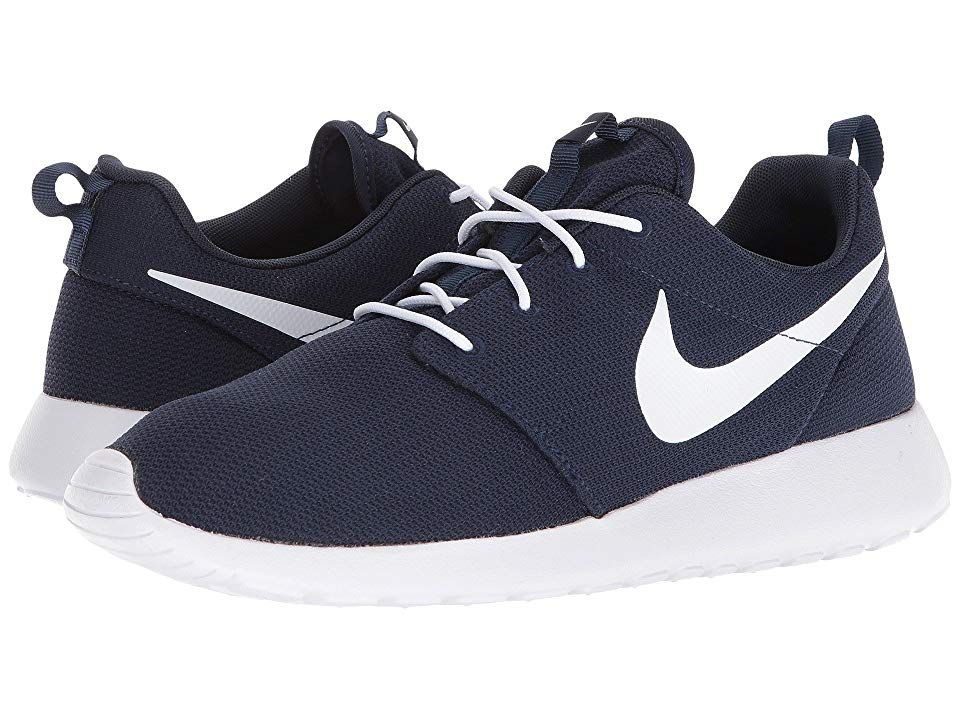 Nike Roshe One Men's Classic Shoes Obsidian/White | Nike ...