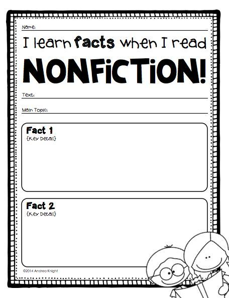 Are a Debbie Miller fan? If so, youu0027re going to love this new - fact sheet templates