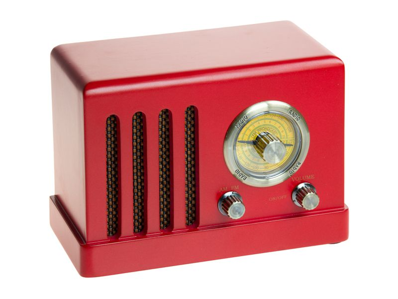 Radio vintage. www.actuadecor.com