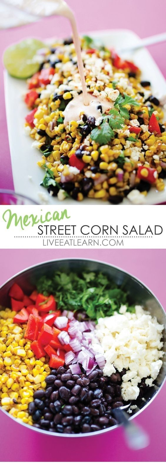 MEXICAN STREET CORN SALAD images