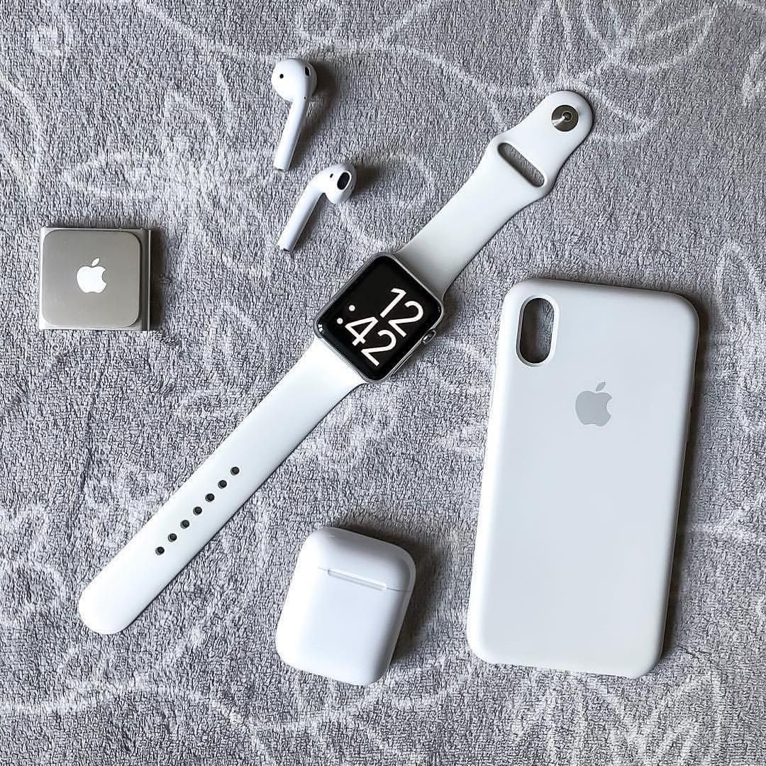 836bad237b2 Team White 🏳 From @geekformers Apple Watch White, All Apple Products, Apple  Inc