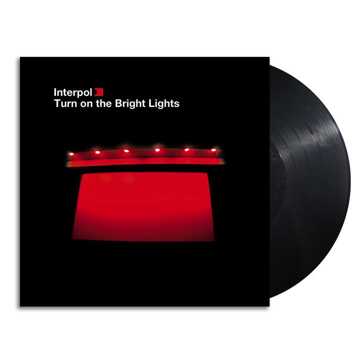 Interpol Turn On The Bright Lights 120gm Vinyl Lp Sealed New Alternativeindie Lights Bright Lights Vinyl