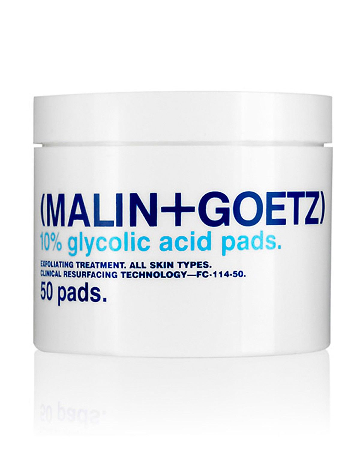MALIN+GOETZ Glycolic Acid Pads ($48): The physician-grade glycolic acid on these pads works like a Mr. Clean Magic Eraser to thoroughly slough away dead skin. It brings glowy J.Lo-worthy skin to the surface and won't interfere with any of the acne treatments or anti-aging products in your regimen.