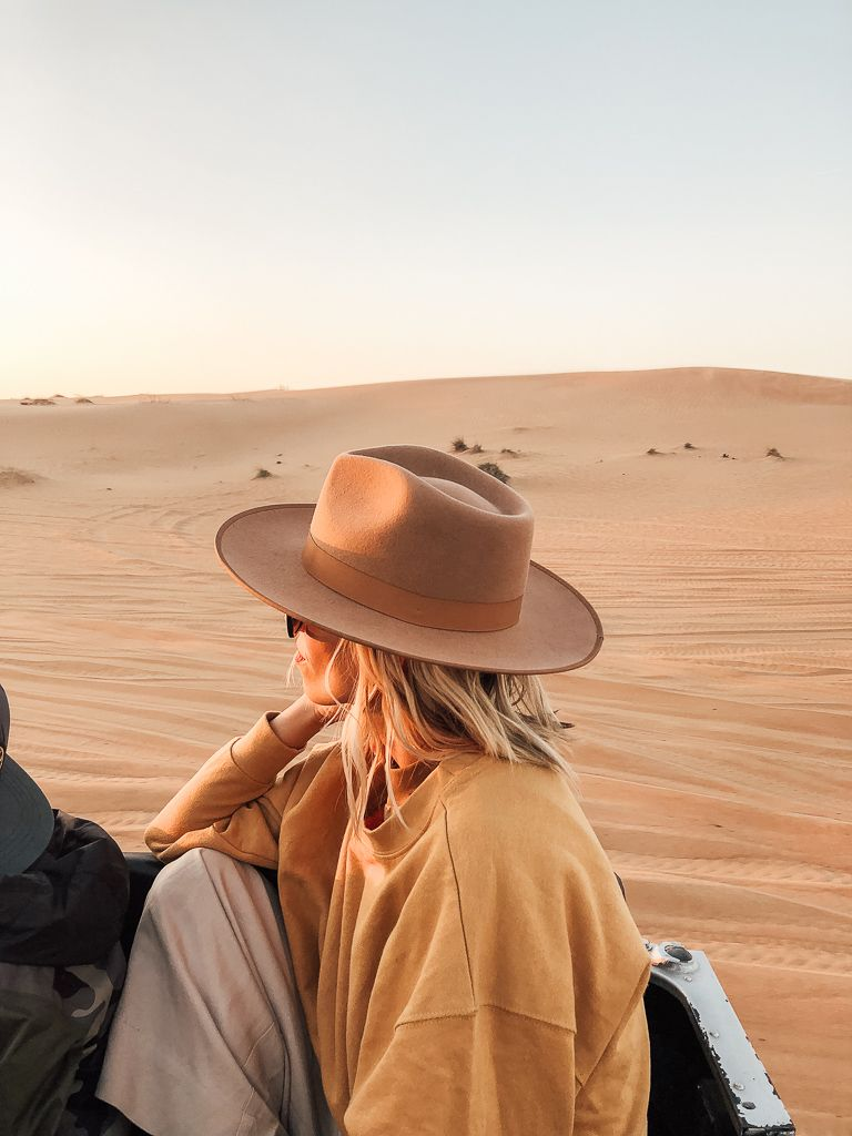 OUR TRIP TO DUBAI - the parrish place #outfitswithhats