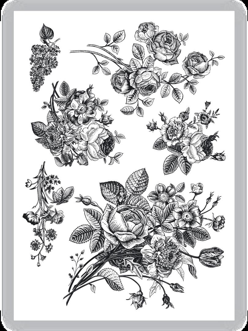 Vintage Flowers Vintage Flower Tattoo Vintage Tattoo Flower Bouquet Tattoo