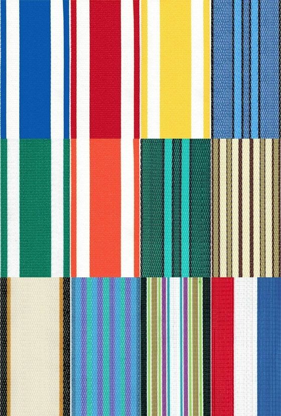 lawn chair webbing replacement barcelona outdoor strapping 2 1 4 x 50 feet choose color lawnchair