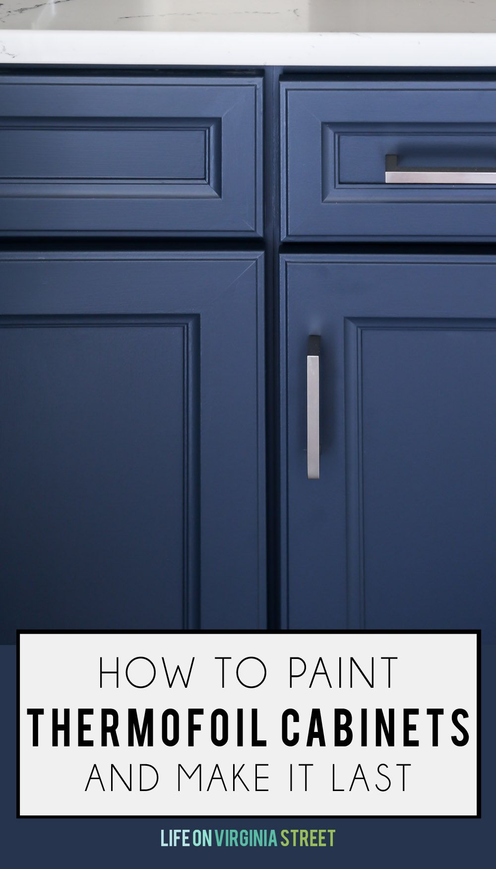 How To Paint Thermofoil Cabinets Thermofoil Cabinets Laminate Cabinets Painting Laminate Cabinets