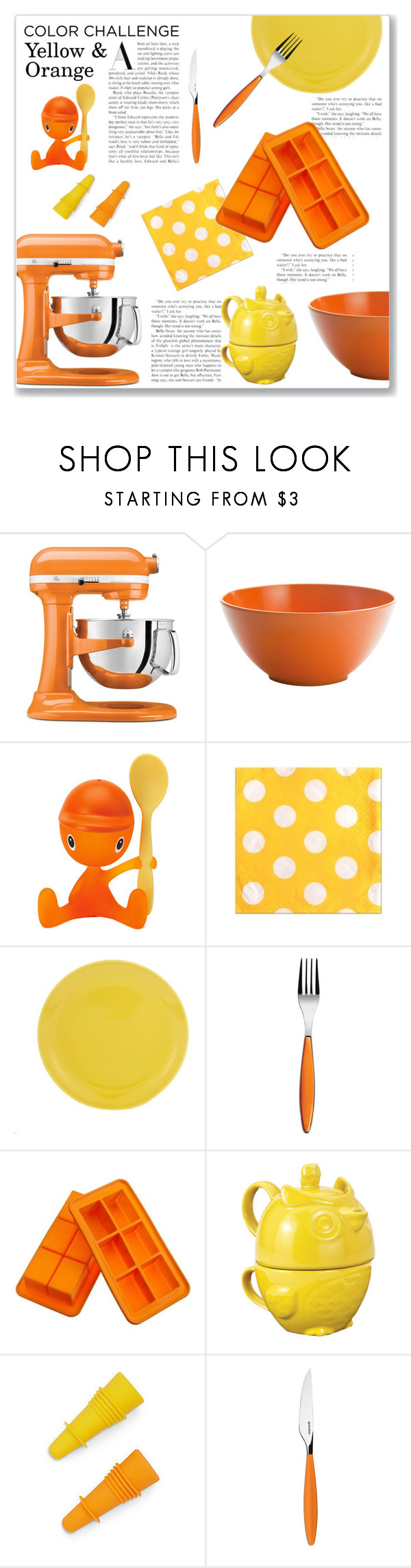Yellow Kitchen Accessories | Kitchen Design Ideas