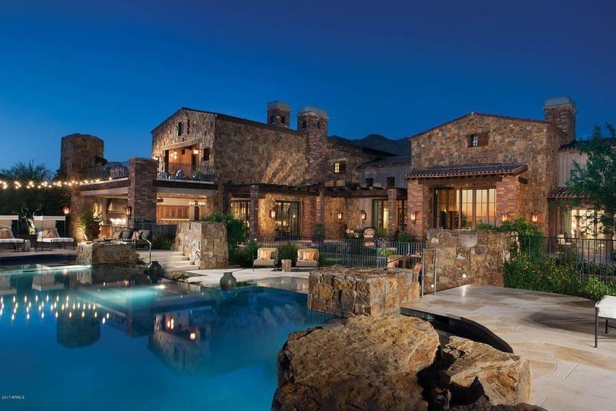 Scottsdale Arizona Home Sells For 17 5 Million Breaks State Record Scottsdale Mansions Mansions For Sale